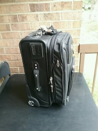 black and gray travel luggage Gaithersburg, 20886