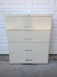 "42"" 4-Drawer Lateral File Cabinet  • w/Lock no key Clover, 29710"