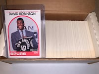 1989-90 NBA Hoops Basketball Complete Series 1 Robinson Rookie  Fall River, 02720