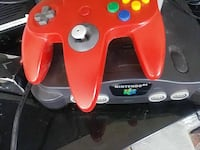 black Nintendo 64 with Orange gamepad Smyrna, 30080
