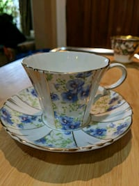 Fine bone china cup and saucer New Westminster, V3M 3E4