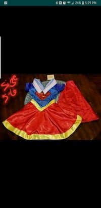 Supergirl Dress-up Costume Size 5-6 Lombard, 60148
