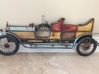 Decorative vintage cars made of metal 3D Laval, H7M 4S2