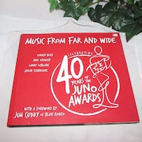 $14 MUSIC FROM FAR AND WIDE Juno Awards Great Book Mississauga