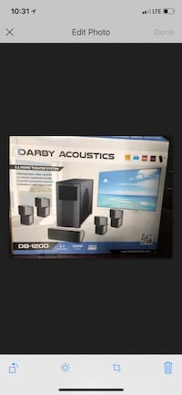 Darby Acoustics DB-1200 home theater system