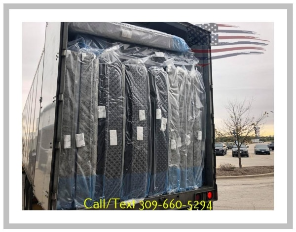 Semi truck of mattresses just came in Huge selection too choose from