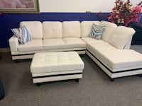 Brand new sectional and ottoman Omaha, 68134
