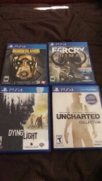4 ps4 games San Bernardino, 92408