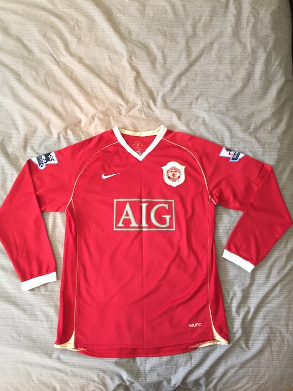another chance b4dd0 dad41 Cristiano Ronaldo Manchester United jersey