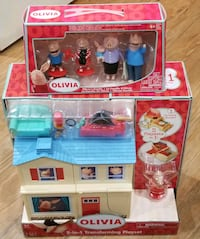 Collectible - Olivia's 2-in-1 Playset - New Fairfax