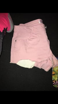 women's pink shorts Triangle, 22172