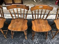 Solid pine chairs North Miami, 33161