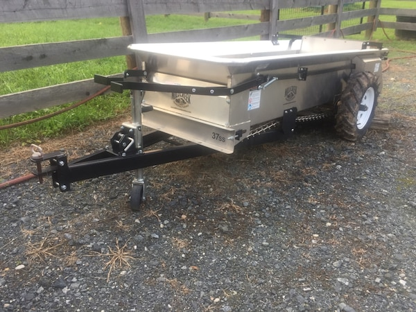 Stainless steel spreader