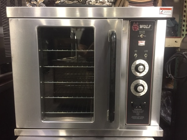WOLF CONVECTION OVEN COMMERCIAL RESTAURANT EQUIPMENT BAKERY BREAD POOFER  ELECTRIC