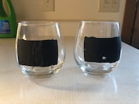Stemless Wine Glasses with Chalkboard Paint  Massillon, 44646