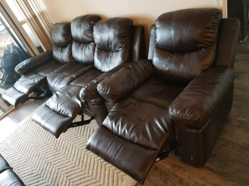 Recliner 6 Seater Sofa Set 1