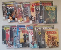 Savage Sword of Conan magazine lot (22 issues) Mount Airy