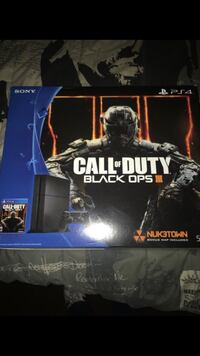 Sony PS4 Call of Duty Black Ops 3 box