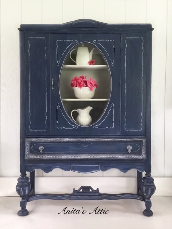 Antique China Cabinet 0