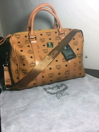 brown Louis Vuitton leather tote bag Fairfax, 22032