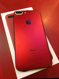 red iPhone 7 plus with box New York, 10011