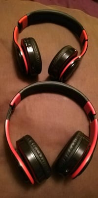 black and red wireless headphones Toronto, M5V 2Z8