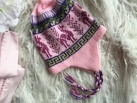 pink and green knit cap Springfield, 22150