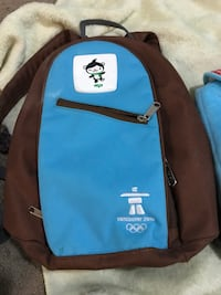 brown and blue backpack Calgary, T3J 4T2
