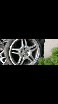 gray 5-spoke car wheel with tire screenshot Montréal, H4J 2E5