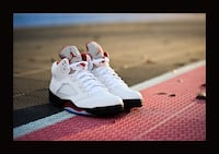 Jordan Retro Fire Red 5 Herndon, 20170