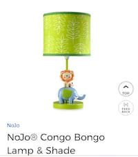 Baby 's room lamp and shade and baby toy