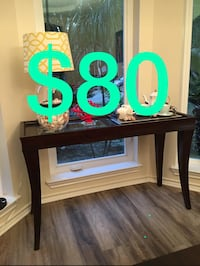 Brown wooden table  Houston, 77095