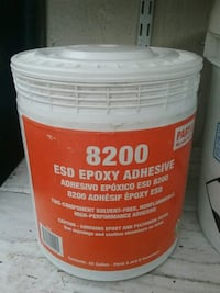 ESD EPOXY ADHESIVE 8200 PART A mixed with part b
