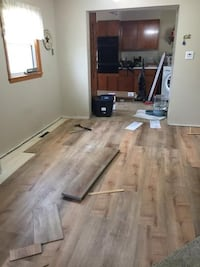 Hardwood laminate and painting Sterling