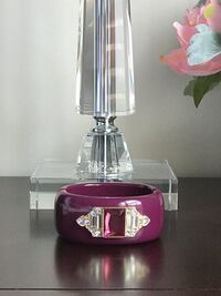 Plum Bangle Bracelet with Rhinestone Details Fredericksburg, 22407