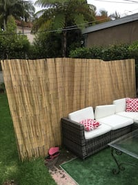 Bamboo fence/shade for sale. Sturdy! Santa Monica, 90402