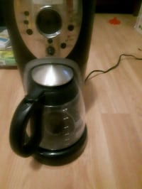 black and gray coffeemaker Mississauga, L5M 0C3
