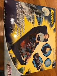New in box Batman Ready portable travel sleeping bag bed, chair 3in1 Wilmette, 60091