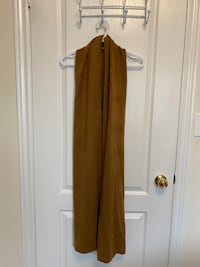 Women's Camel Coloured Scarf