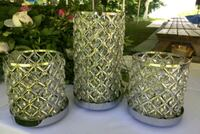 Stunning Candle Holders/ Centerpieces and decorations (silver) Brampton, L6Y 3L2
