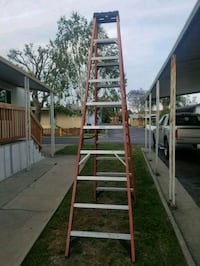 brown and green wooden ladder Upland, 91786