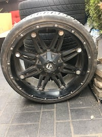 22 inch fuel hostage rims Langley, V4W