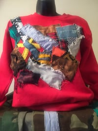 Crew Neck sweater custom made any color any size