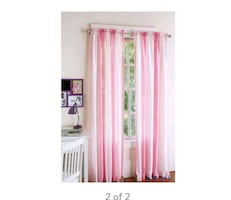 Brand new Crushed Ombre girls bedroom curtains