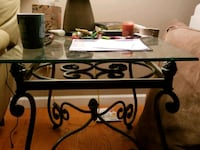 metal framed glass top coffee table and end tables Crossville, 38555