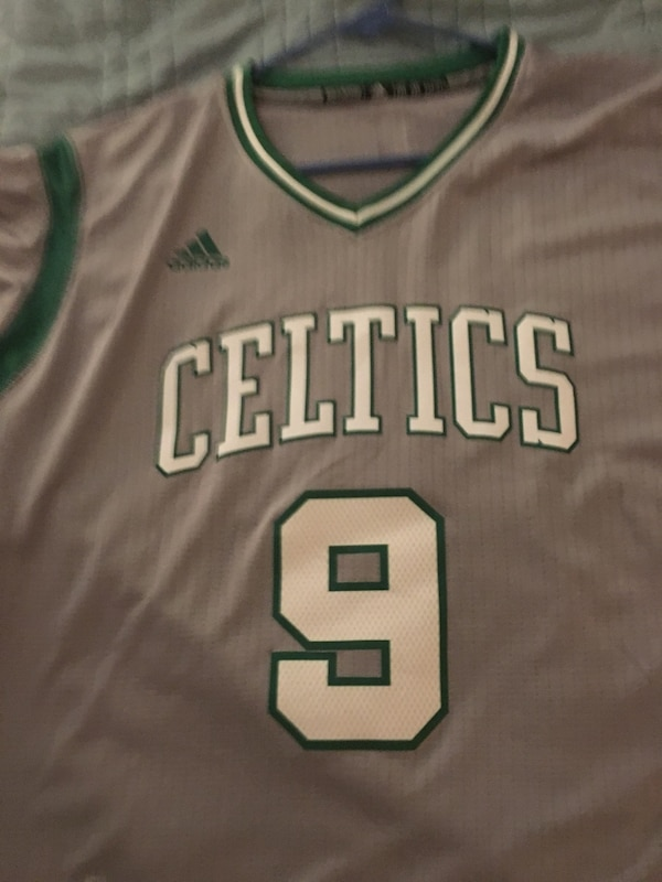 Men's Celtics Rajon Rondo Adidas alternate throwback jersey