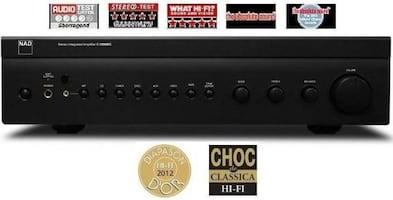 NEW! NAD Integrated Amplifier -AMAZING Sound! -Top Rated!