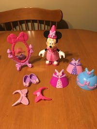 Minnie Mouse princess bowtique set Disney