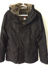 black zip-up jacket Toronto, M9P 1N8