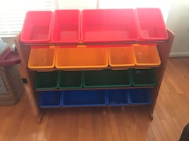 Toy Storage Shelves/Bins